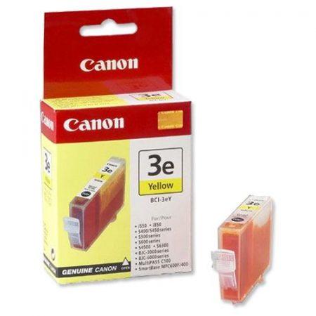 Canon BCI-3eY tintapatron - sárga színű
