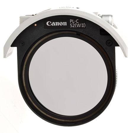 Canon 52 DROP-IN Circular Polarising WII