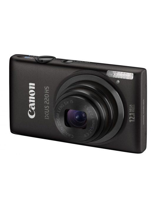 Canon Ixus 220HS (3 színben) (fekete)