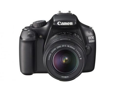Canon EOS 1100D + EF-S 18-55mm / 3.5-5.6 III (fekete)