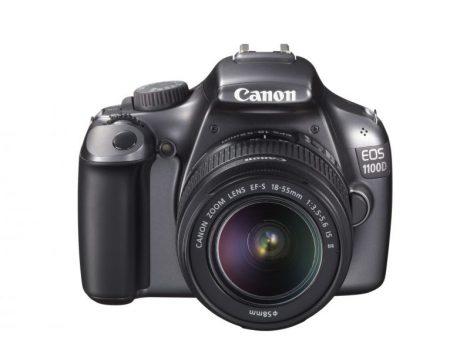 Canon EOS 1100D + EF-S 18-55mm / 3.5-5.6 IS II (4 színben) (szürke)