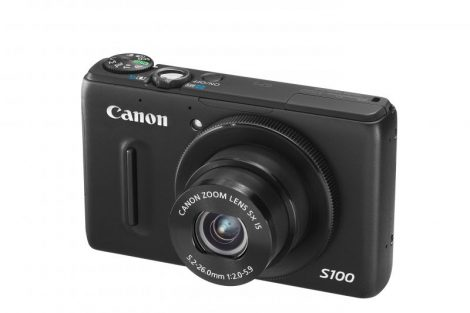 Canon PowerShot S100 (GPS) (2 színben) (fekete)