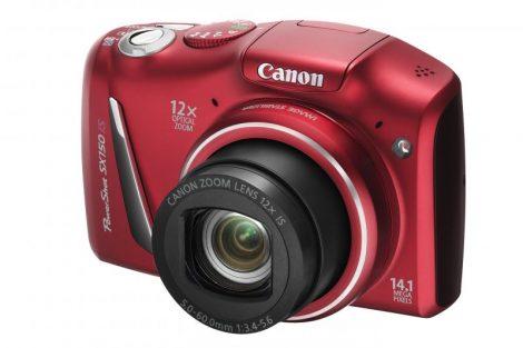 Canon PowerShot SX150IS (3 színben) (piros)