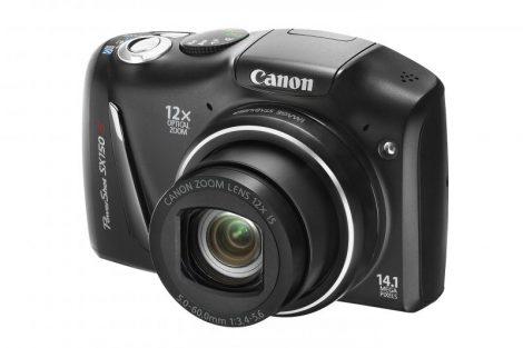 Canon PowerShot SX150IS (3 színben) (fekete)