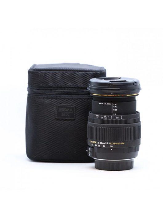 Sigma 18-50mm / 2.8 EX DC HSM (for Nikon) (HASZNÁLT)