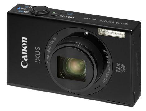 Canon Ixus 510HS (Wi-Fi) (2 színben) (fekete)