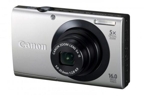 Canon PowerShot A3400is (4 színben) (ezüst)