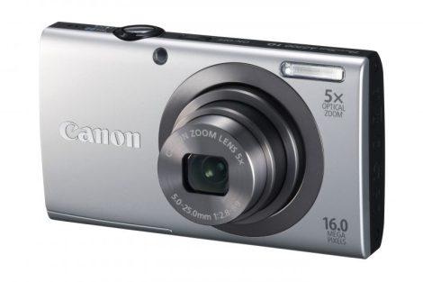 Canon PowerShot A2300 (4 színben) (ezüst)