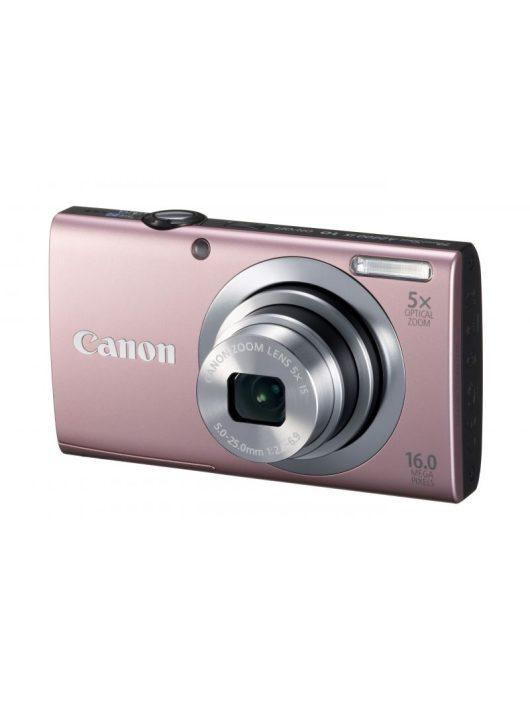 Canon PowerShot A2400is (4 színben) (rózsaszín)