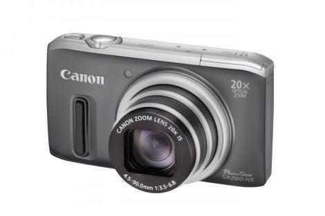 Canon PowerShot SX260HS (GPS) (4 színben) (szürke)