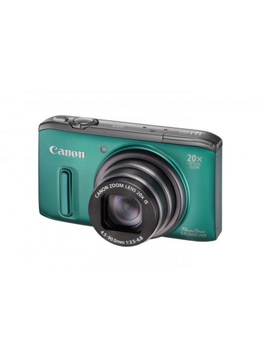 Canon PowerShot SX260HS (GPS) (4 színben) (zöld)