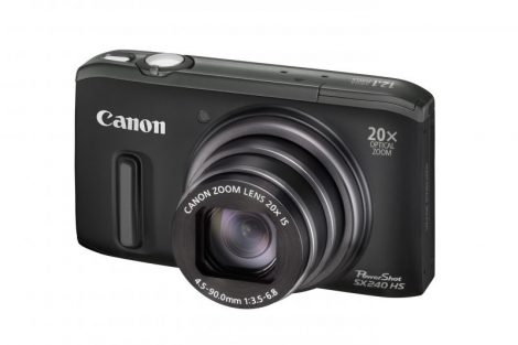 Canon PowerShot SX240HS (3 színben) (fekete)