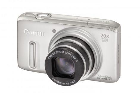 Canon PowerShot SX240HS (3 színben) (ezüst)