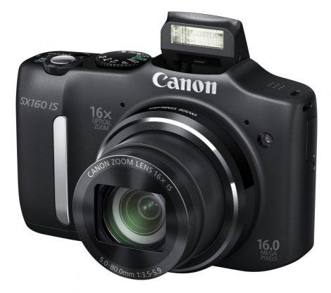 Canon PowerShot SX160is (3 színben) (fekete)