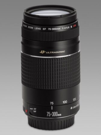 Canon EF 75-300mm / 4.0-5.6 USM mark III