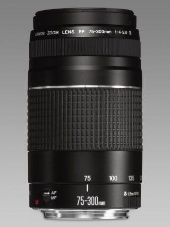 Canon EF 75-300mm / 4-5.6 mark III