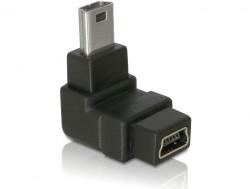 Delock mini USB dug-aljzat (90 fokos J)