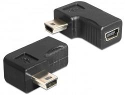 Delock mini USB 90 fokos dug-aljzat