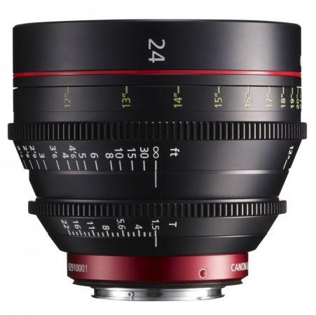 Canon Cine Prime CN-E 24mm / T1.5 L F (meter) (EF bajonett)