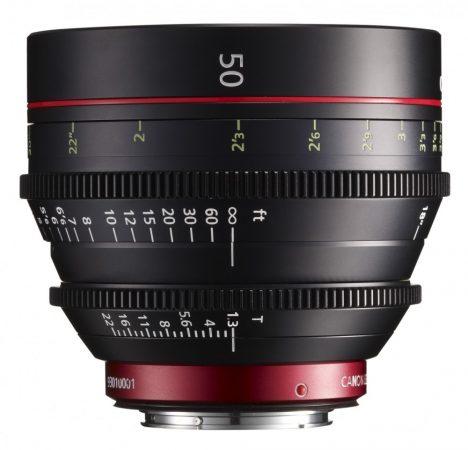Canon Cinema Prime CN-E 50mm / T1.3 L F (EF bajonett)