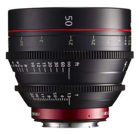 Canon Cine Prime CN-E 50mm / T1.3 L F (meter) (EF bajonett)