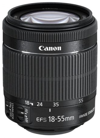 Canon EF-S 18-55mm / 3.5-5.6 IS STM