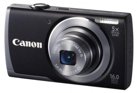 Canon PowerShot A3500is (Wi-Fi) (4 színben) (fekete)