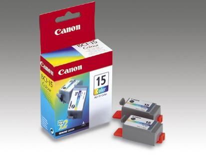 Canon BCI-15 (color) (2db)