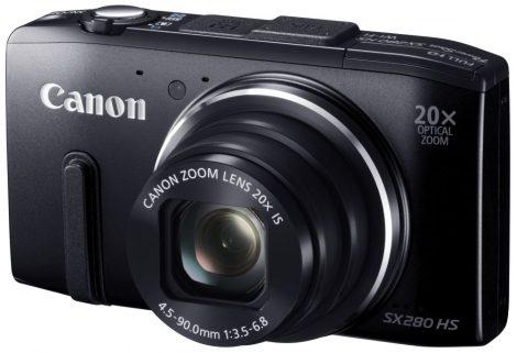 Canon PowerShot SX280HS (GPS) (Wi-Fi) (2 színben) (fekete)