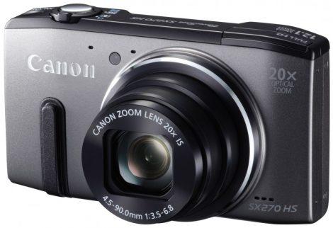 Canon PowerShot SX270HS (2 színben) (szürke)