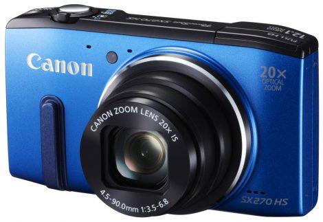 Canon PowerShot SX270HS (2 színben) (kék)