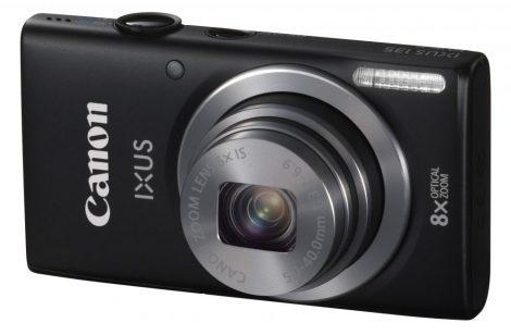 Canon IXUS 135 (Wi-Fi) (4 színben) (fekete)