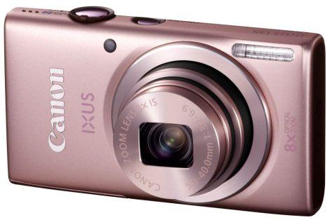 Canon IXUS 135 (Wi-Fi) (4 színben) (rózsaszín)
