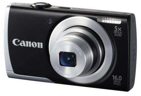 Canon PowerShot A2500 (2 színben) (fekete)