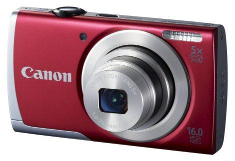 Canon PowerShot A2500 (2 színben) (piros)