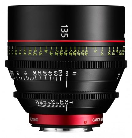 Canon Cinema Prime CN-E 135mm / T2.2 L F (EF bajonett)