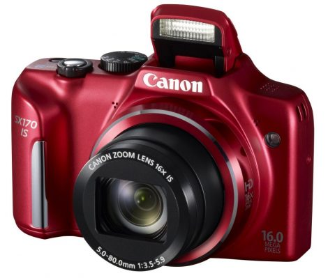 Canon PowerShot SX170is (2 színben) (piros)