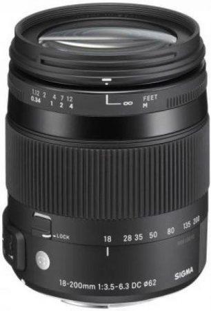 Sigma 18-200mm /3.5-6.3 DC OS HSM MACRO | Contemporary - Pentax PS bajonettel