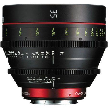 Canon Cine Prime CN-E 35mm / T1.5 L F (meter) (EF bajonett)
