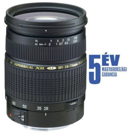 Tamron SP AF 28-75mm /2.8 Di XR LD (Pentax)