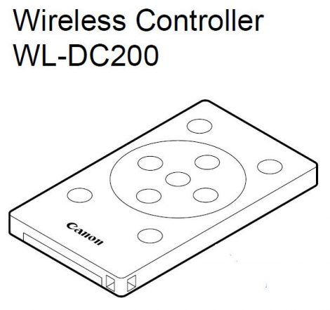 Canon WL-DC200 távírányító