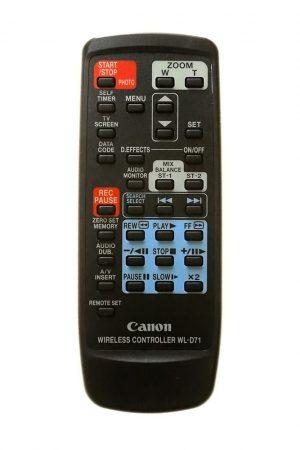 Canon WL-D71A távirányító