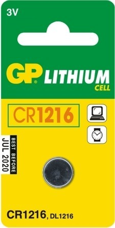 GP CR1216 gombelem