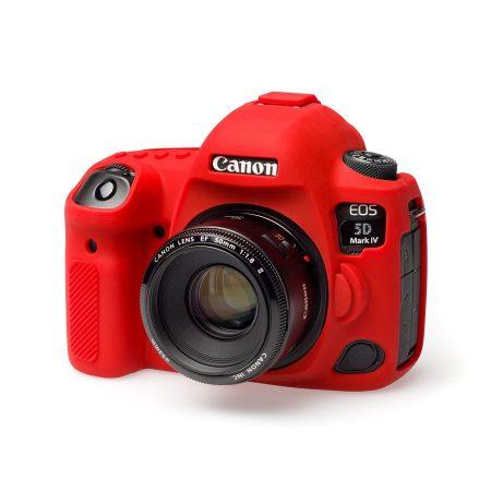 easyCover Canon EOS 5D mark IV tok - piros színű (ECC5D4R)