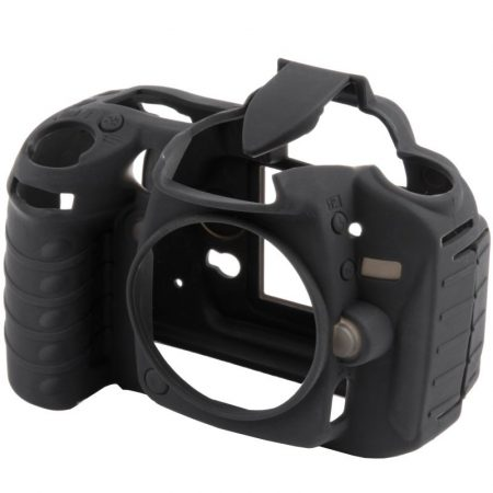 easyCover Nikon D90 tok - fekete színű