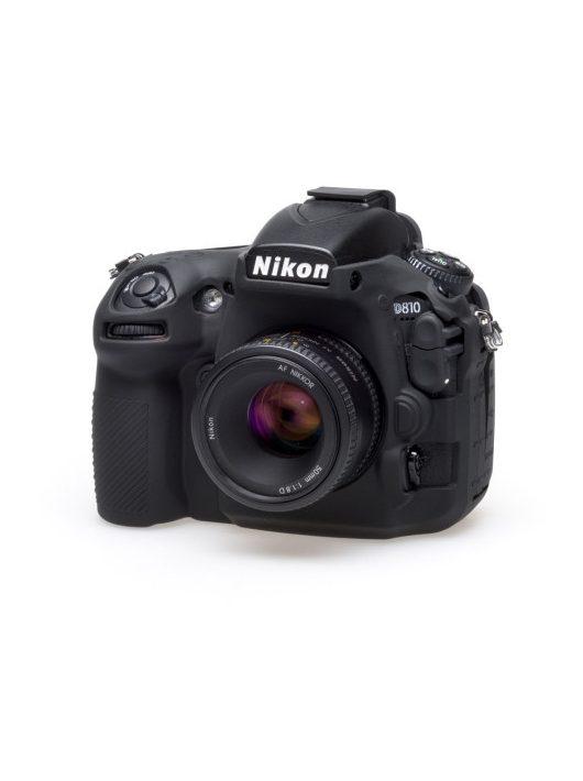 easyCover Nikon D8100 tok - fekete színű (ECND810B)