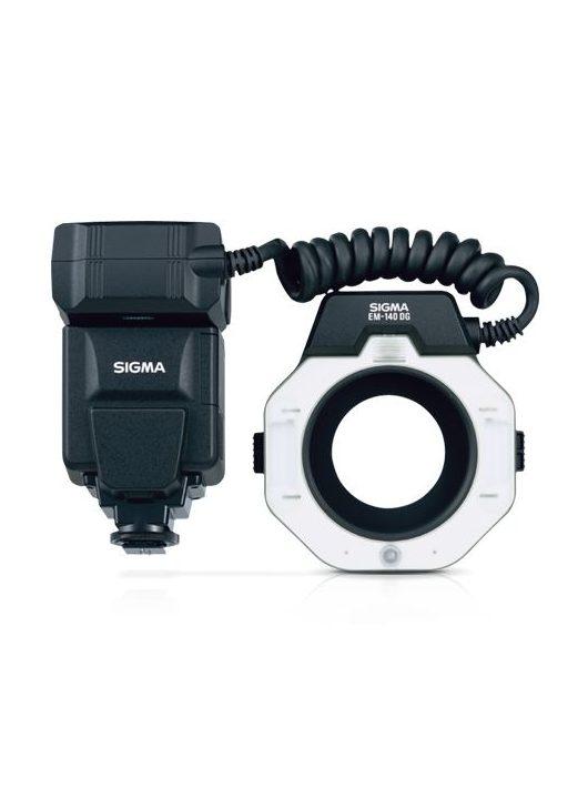 Sigma EM-140 DG MACRO vaku - Canon EO-ETTL