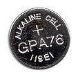 GP A76 LR44 gombelem