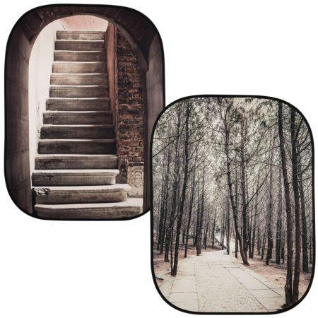 Lastolite perspektivikus háttér lépcső/erdő (LB5740)