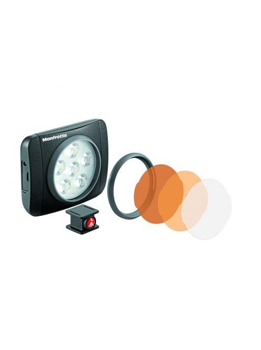 Manfrotto Lumimuse 6 led lámpa + kiegészítők fekete színben (MLUMIEART-BK)
